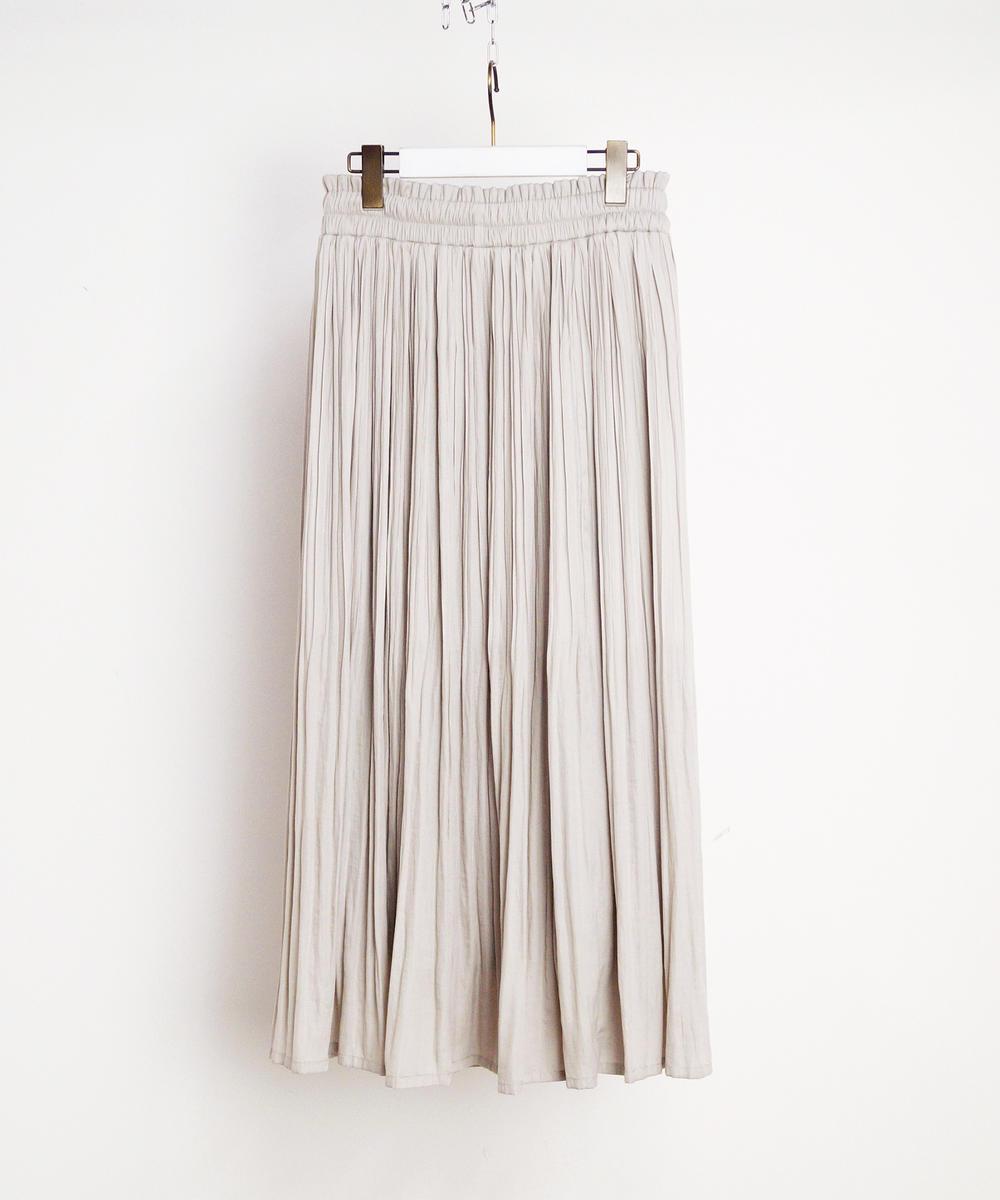 ヴィンテージサテンロングスカート