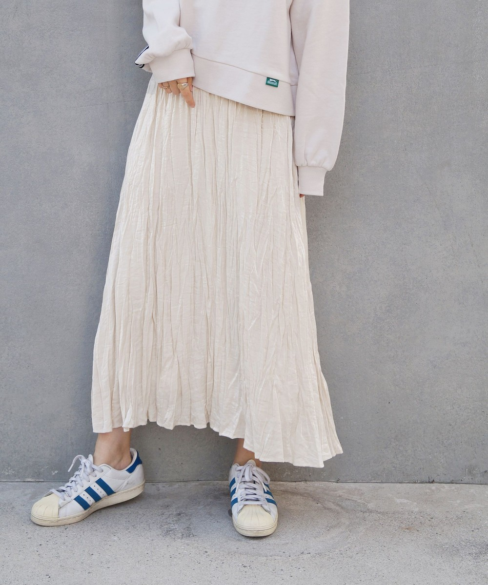 【再値下げ】サテンロングスカート