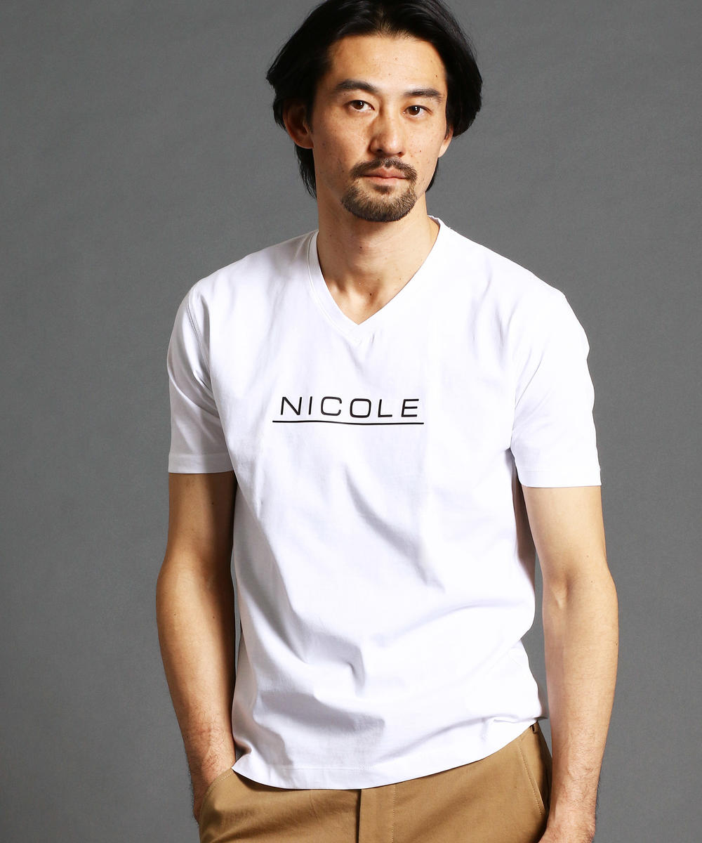 「Safari5月号掲載」ロゴプリントTシャツ