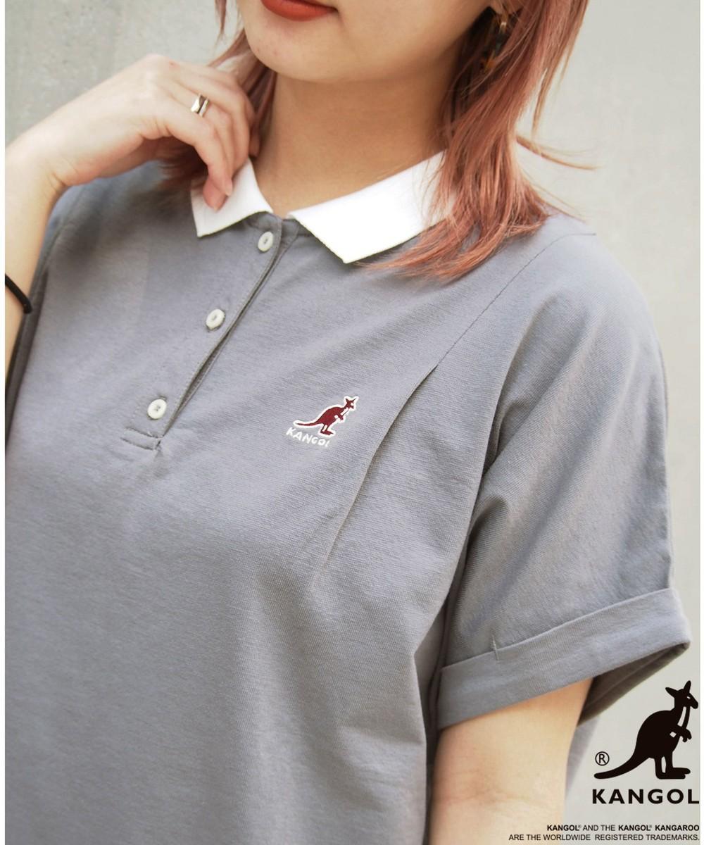 【WEB別注】KANGOLコラボポロシャツ