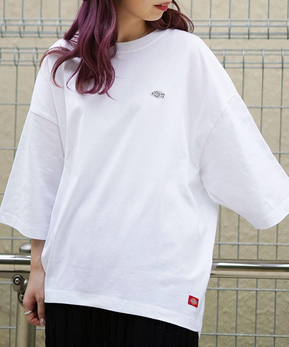 DickiesラウンドヘムワイドTシャツ