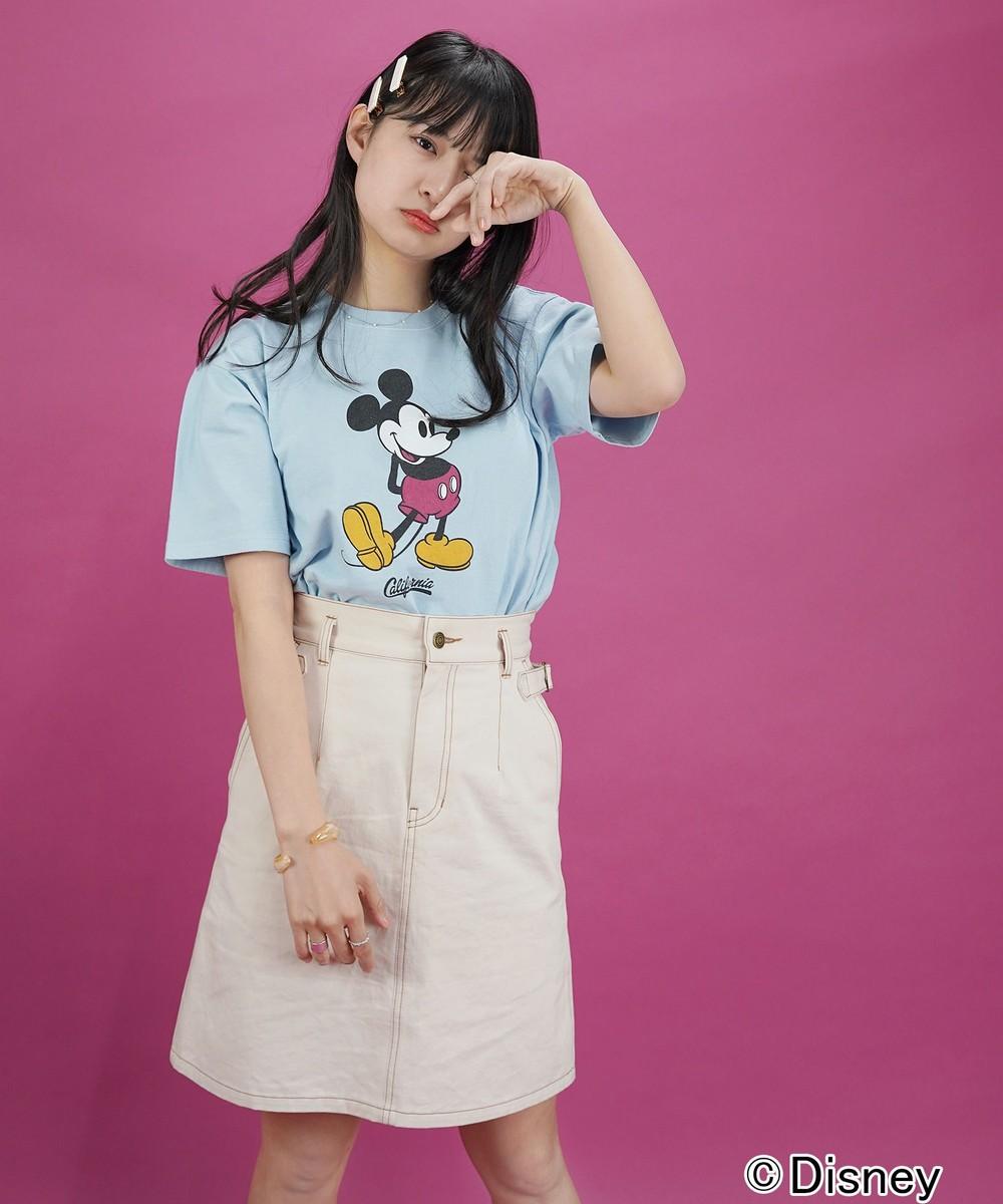 ディズニーキャラクタープリントTシャツ