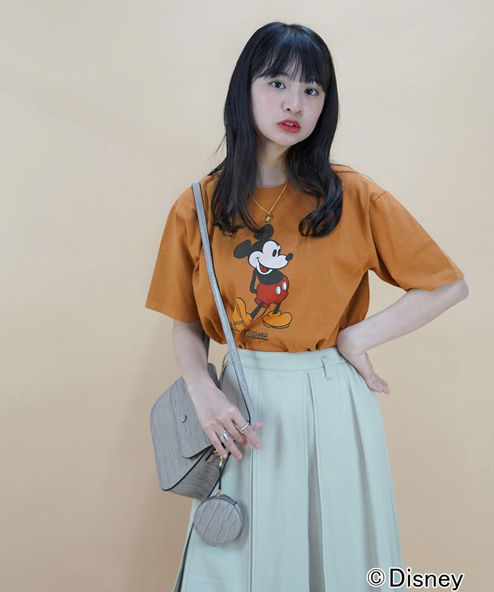 【再値下げ】ディズニーキャラクタープリントTシャツ