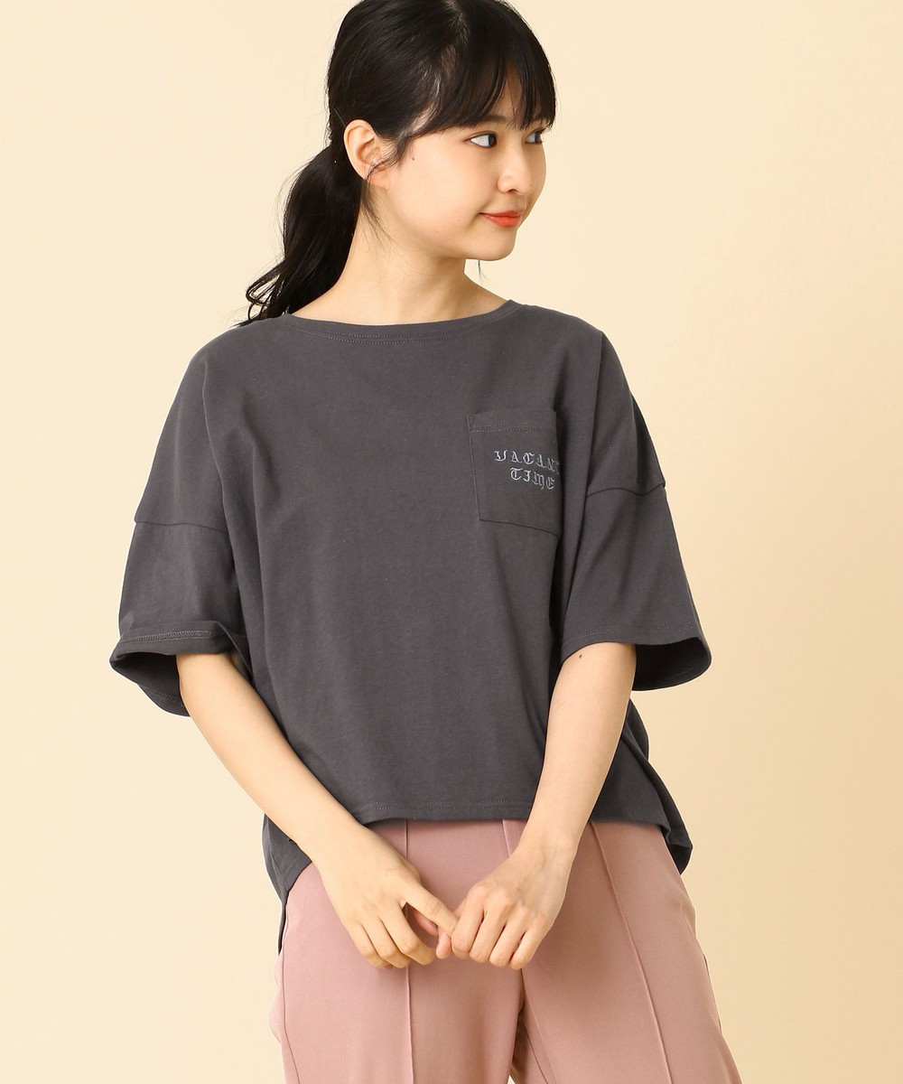 【再値下げ】刺繍ロゴTシャツ