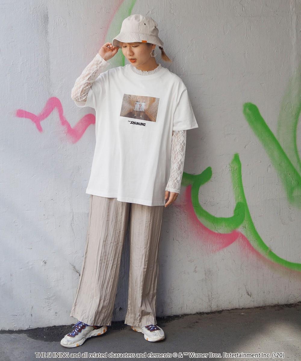 SHiNiNGフォトチュニックTシャツ