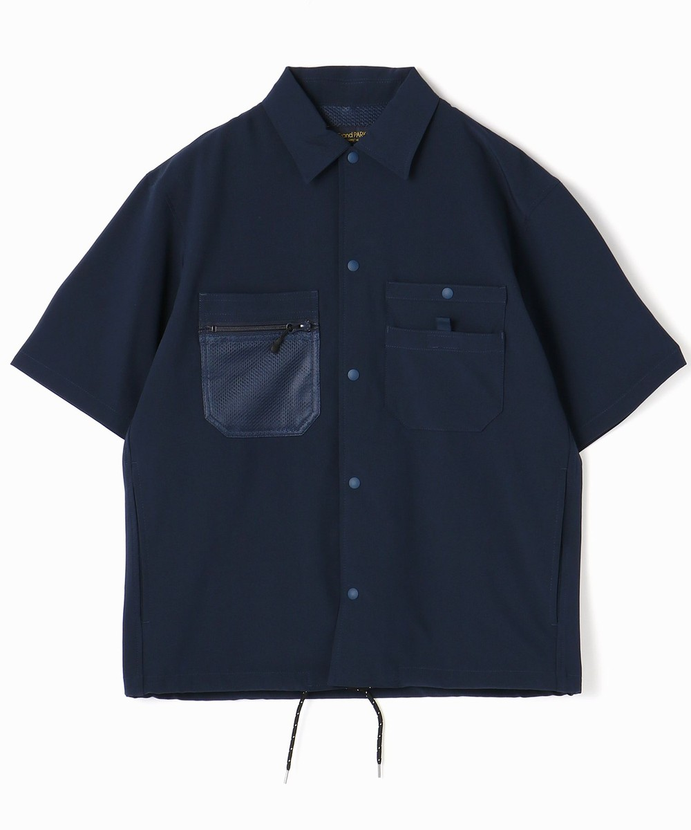 ストレッチリップストップ半袖シャツ
