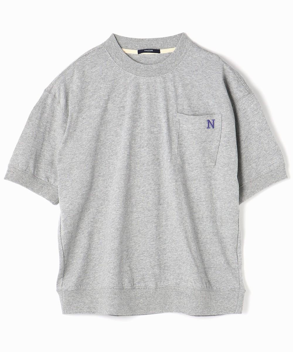 スウェット風ビッグシルエットTシャツ
