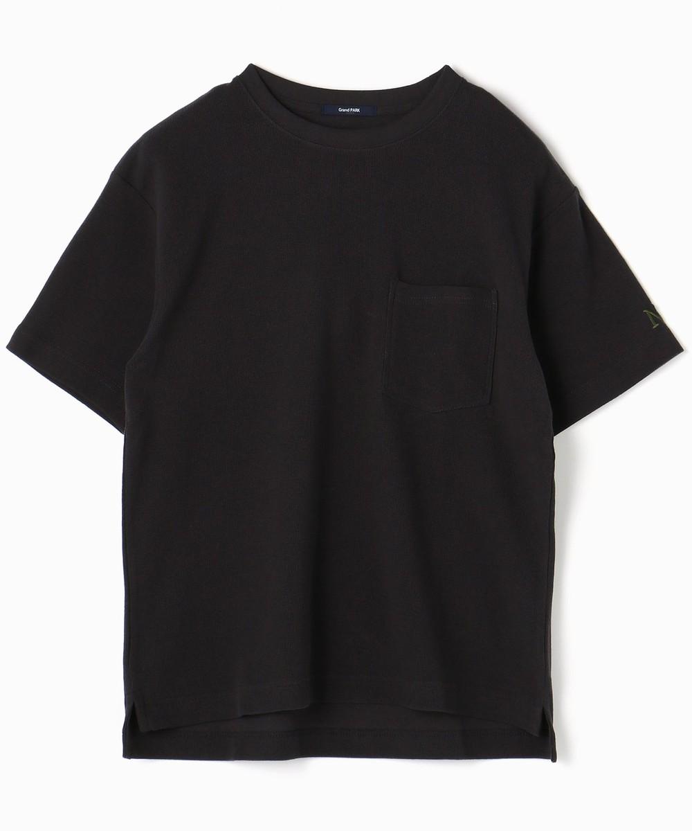 ユルシルエットワッフルTシャツ