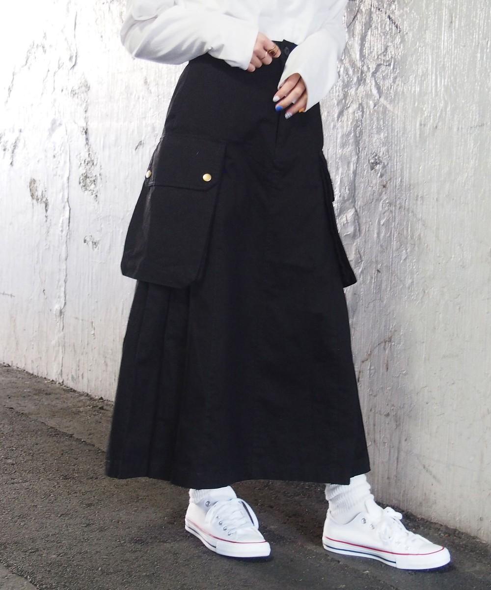 カーゴロングスカート
