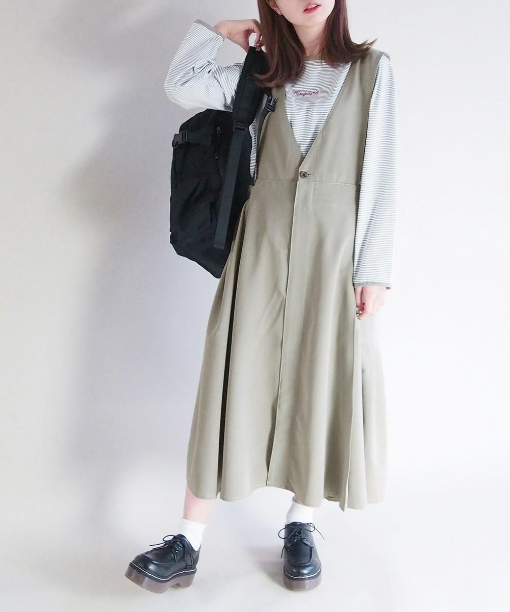 【再値下げ】2WAYジャンパースカート