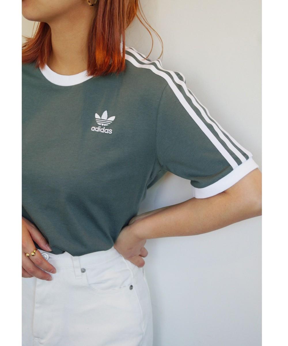 adidas 3STRIPESレギュラーTシャツ