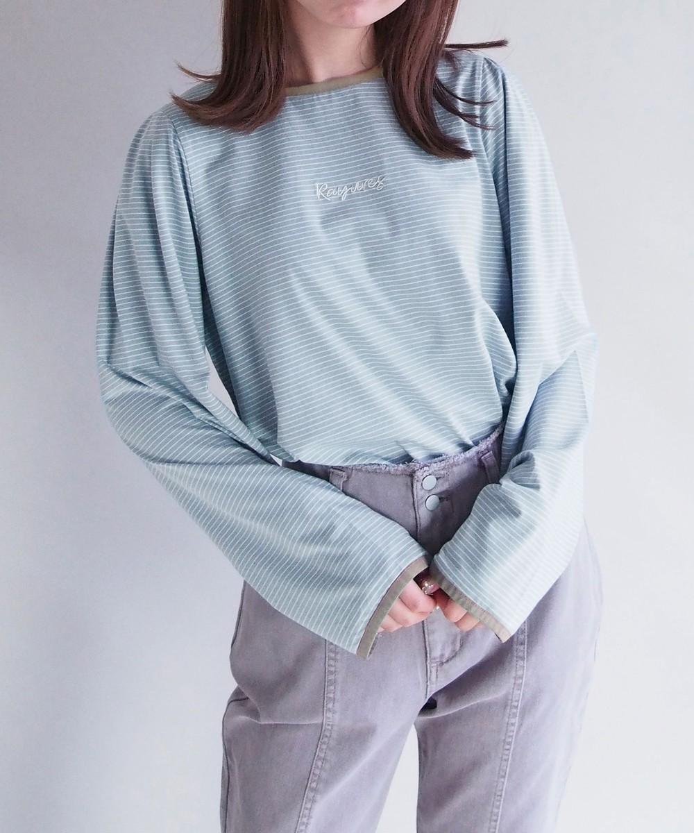 【再値下げ】ボーダーロングスリーブTシャツ