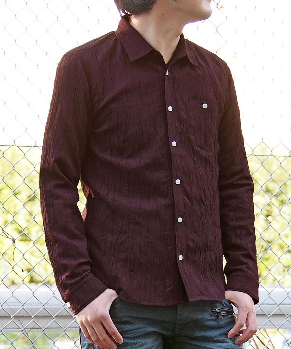 楊柳長袖シャツ