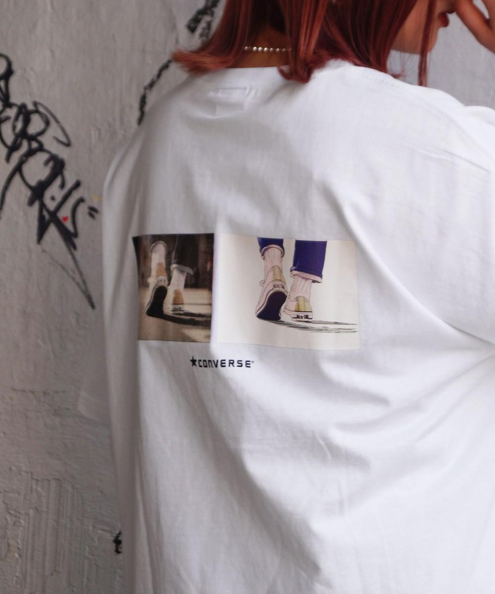 CONVERSEバックプリントTシャツ