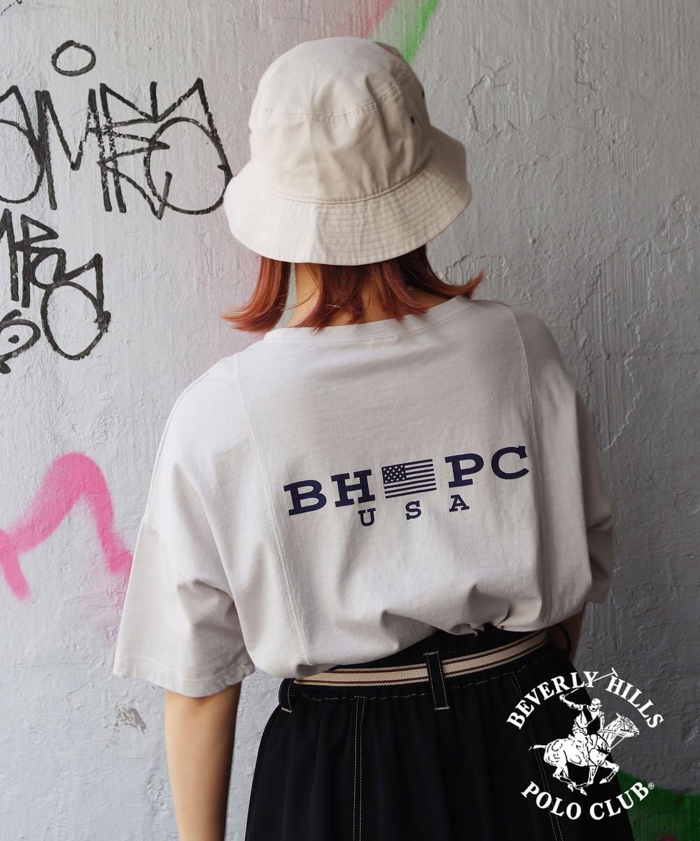 BEVERLY HILLS POLO CLUBコラボビグメントTシャツ
