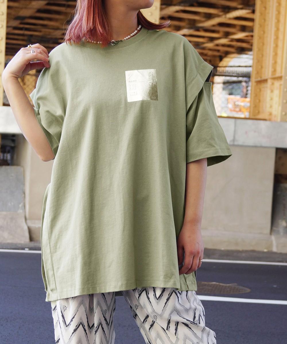 カッティングTシャツ