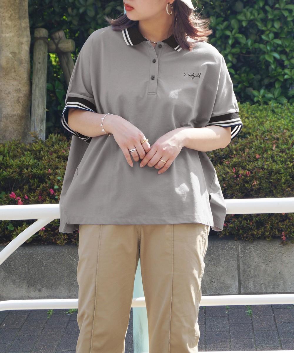 【再値下げ】ビッグシルエットポロシャツ