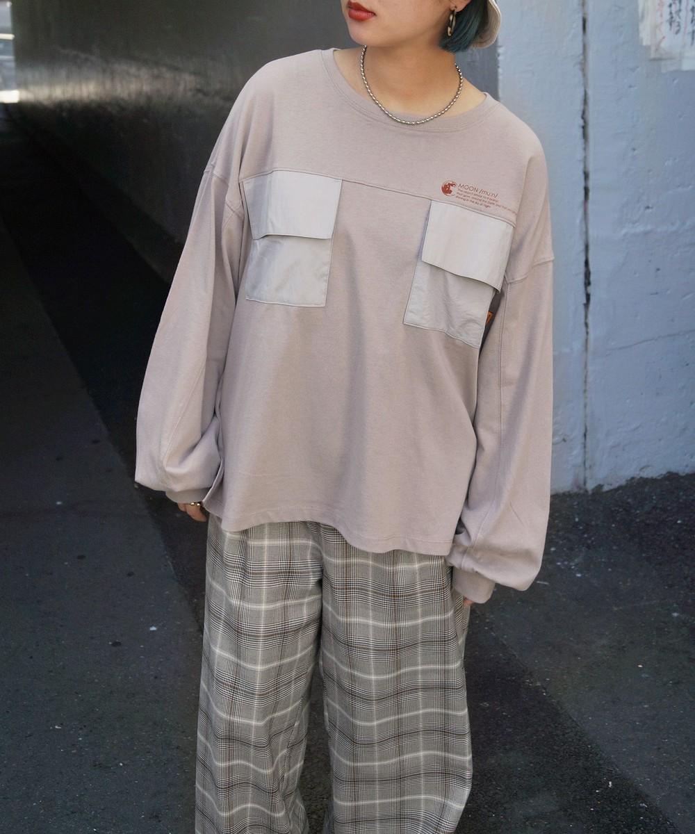 ダブルポケットロングTシャツ