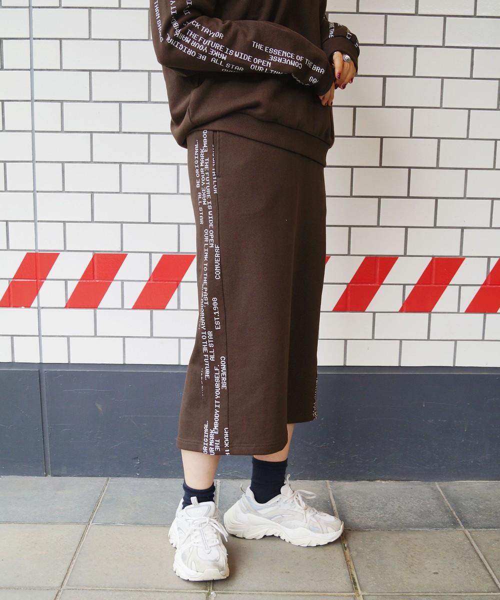 【CONVERSE】裏毛スウェット スカート