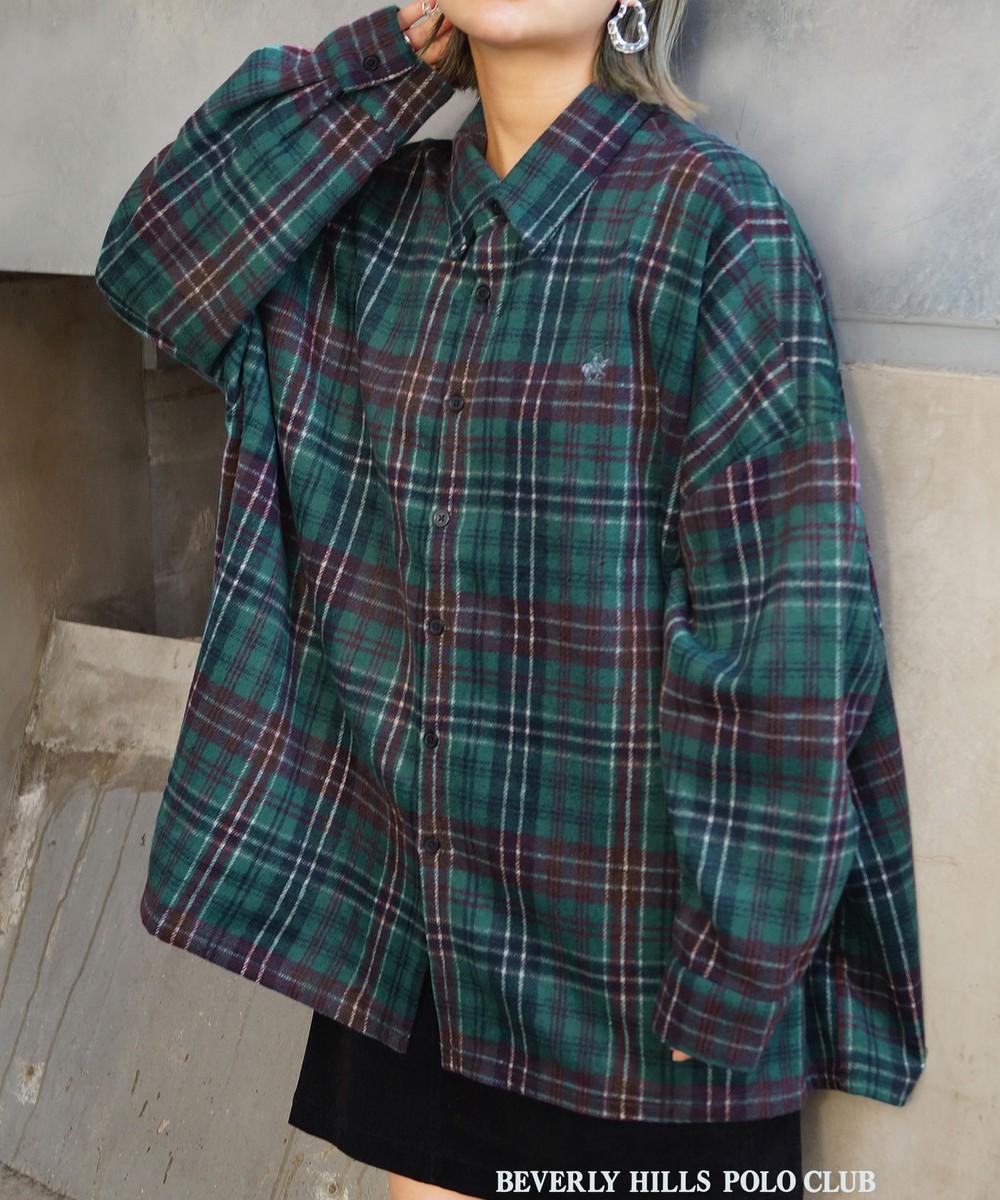 BEVERLY HILLS POLO CLUBコラボチェックシャツ