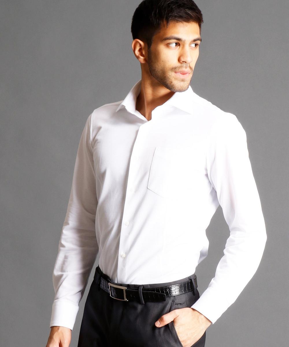 【再値下げ】セミワイドカラードレスシャツ