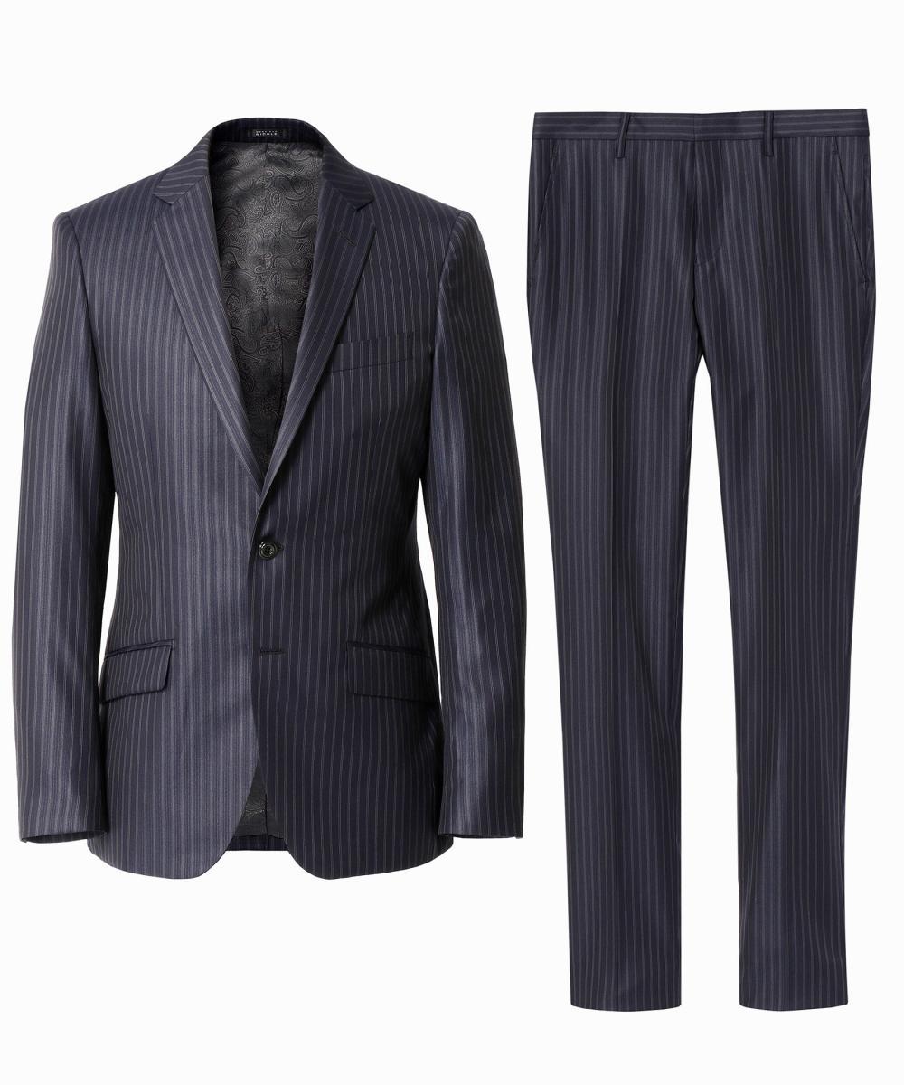 【再値下げ】ストライプ柄スーツ