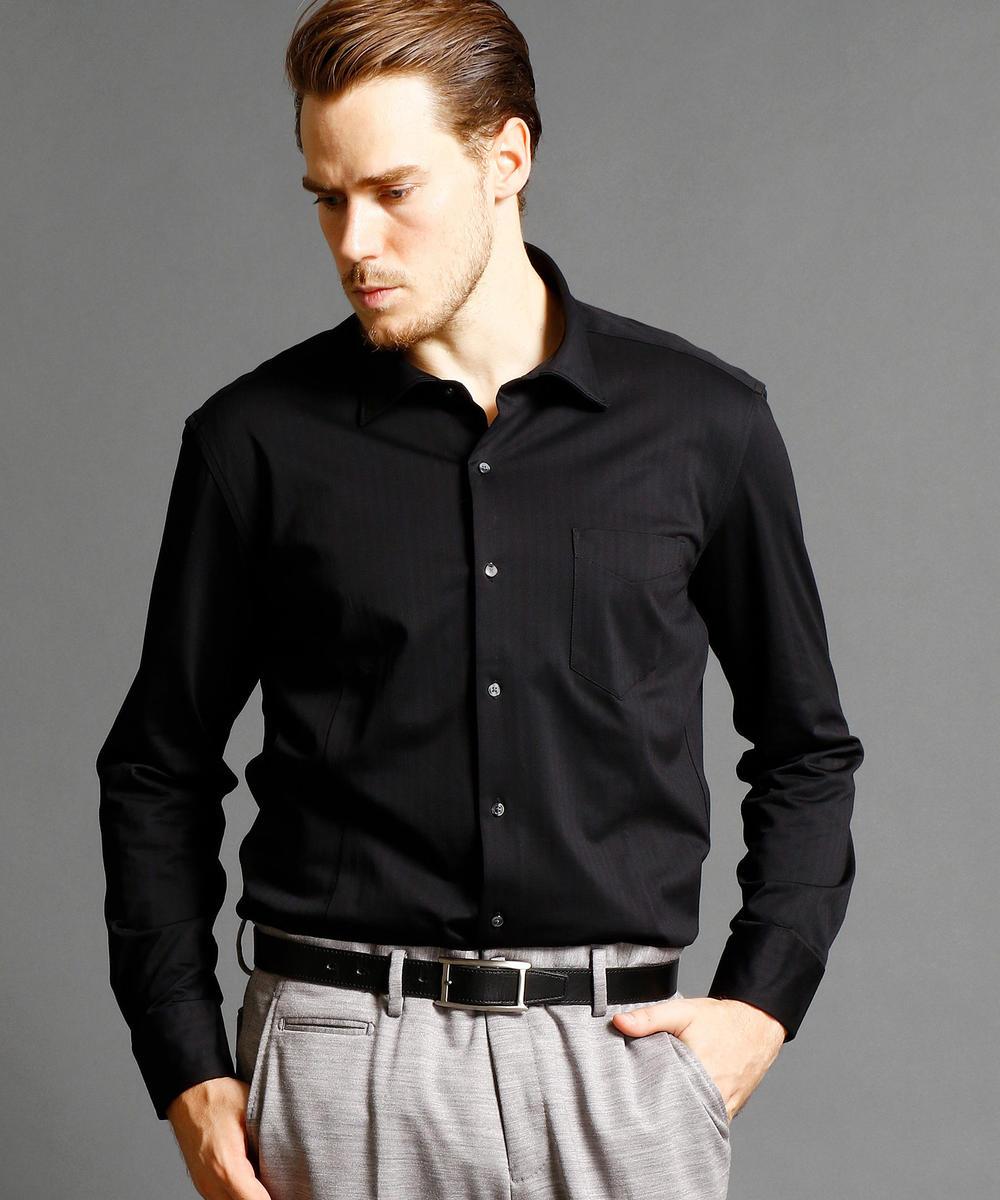 【再値下げ】<大きいサイズ>セミワイドカラードレスシャツ
