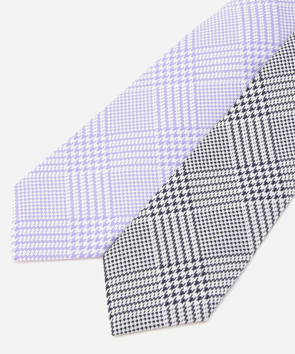 【再値下げ】グレンチェック柄ネクタイ
