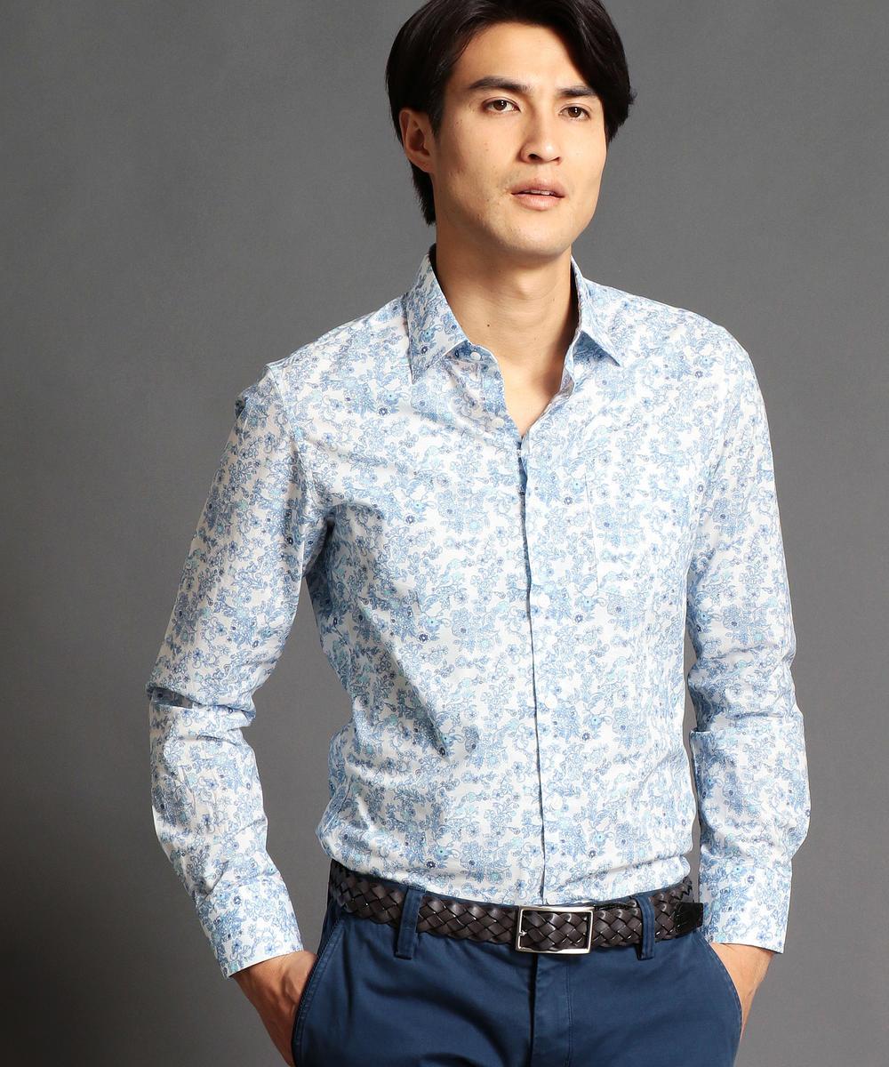 【再値下げ】フラワープリントシャツ