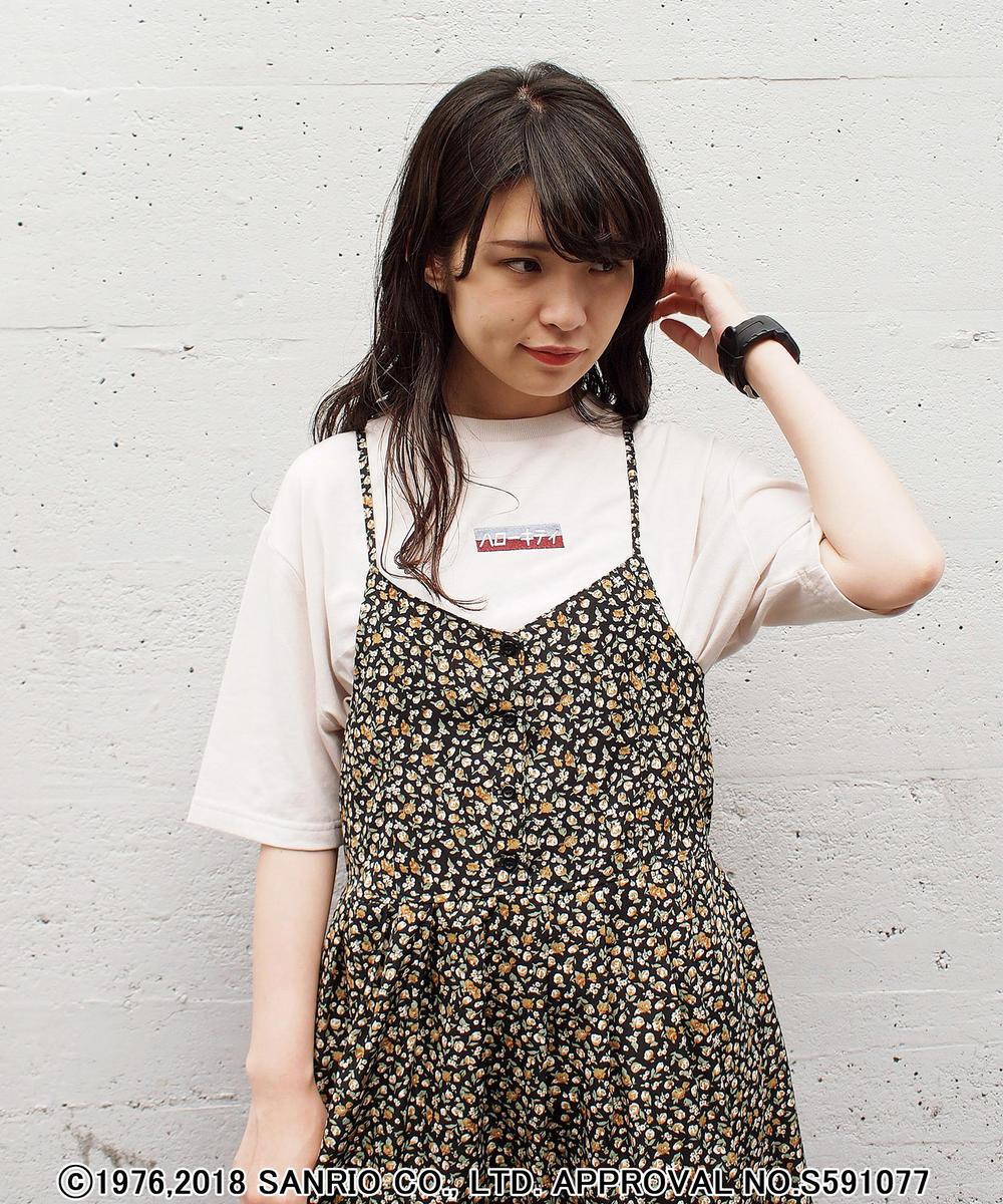 【再値下げ】ハローキティ5分袖Tシャツ