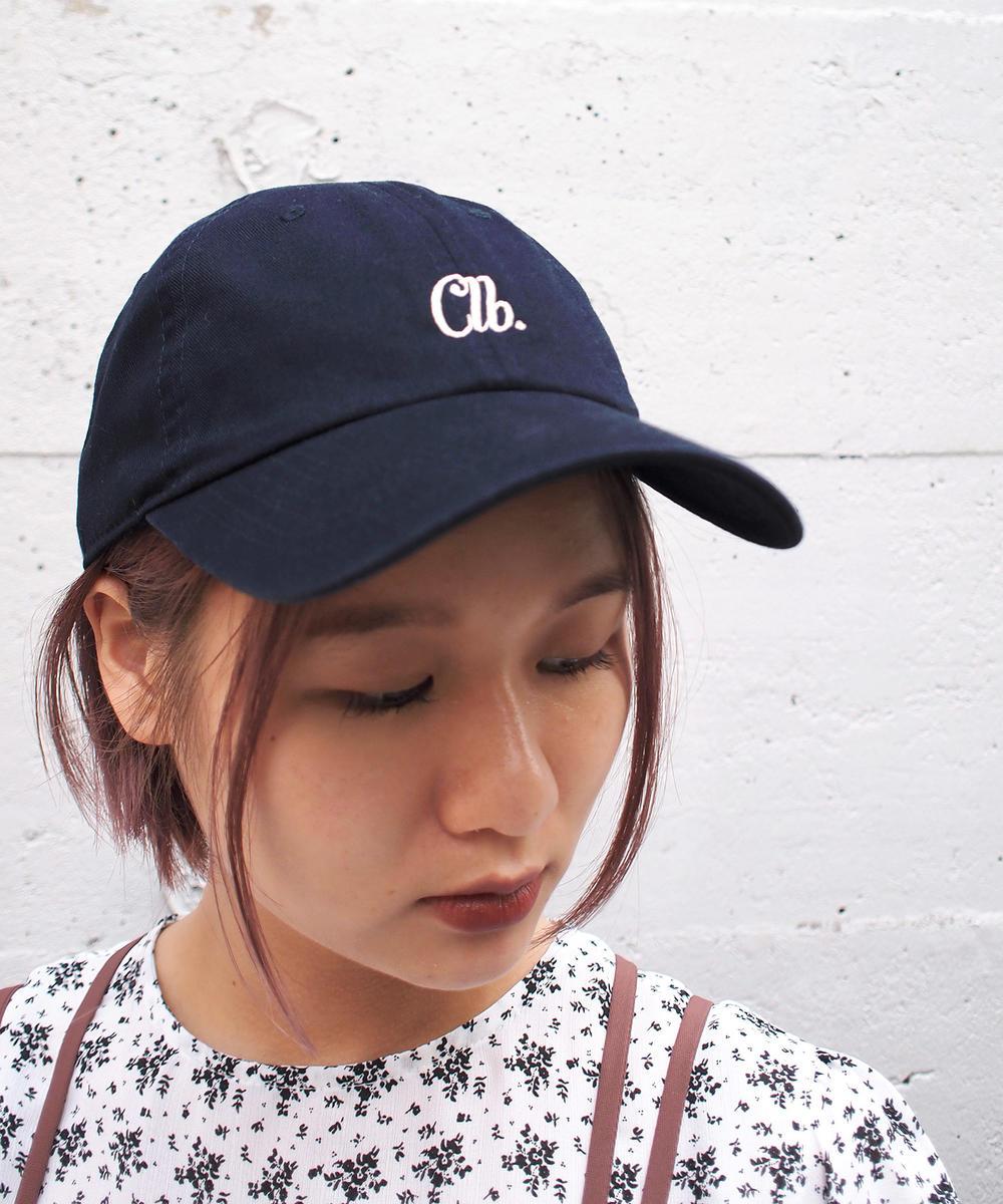 『mer12月号掲載』ワンポイント刺繍キャップ