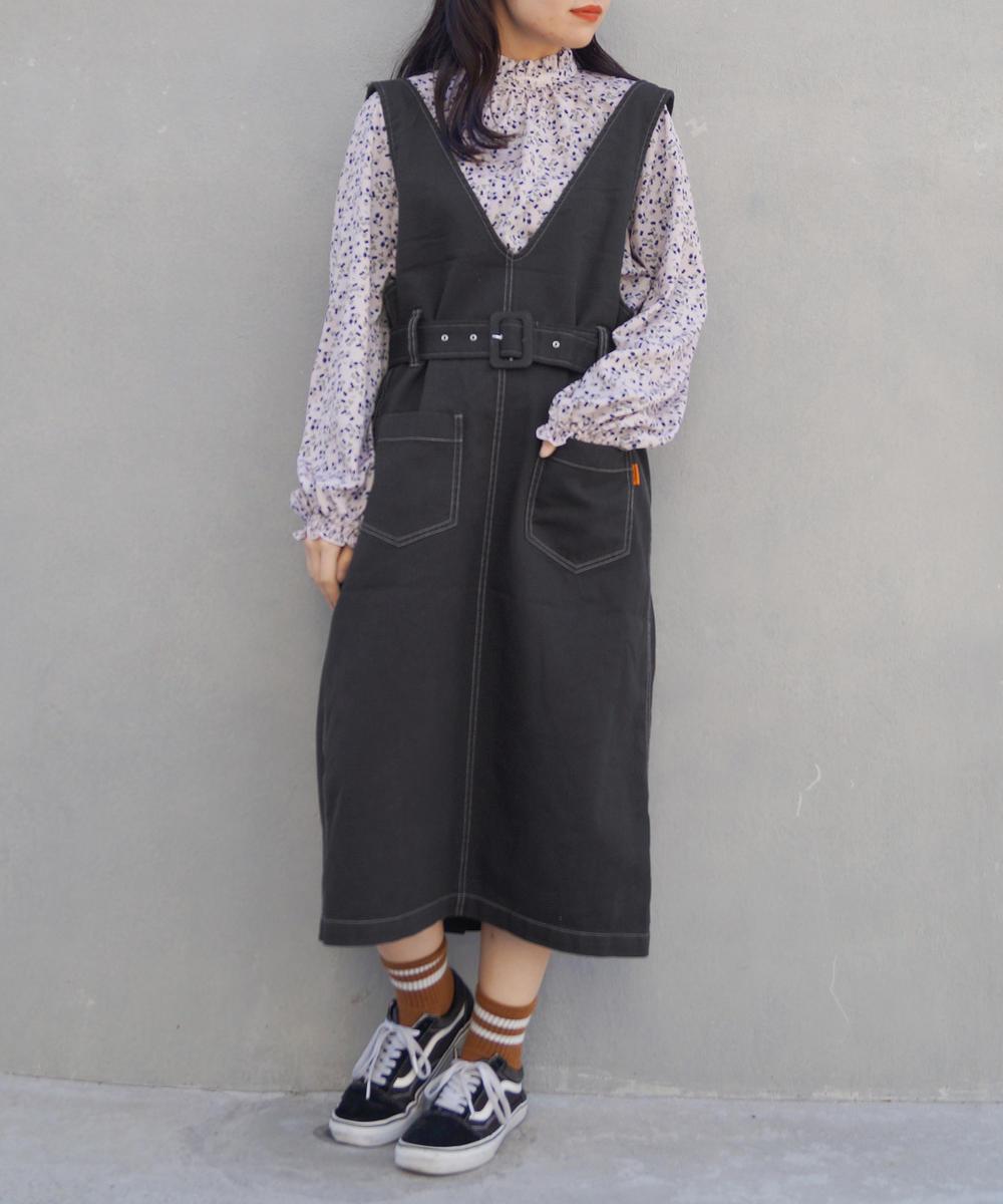 2WAYジャンパースカート