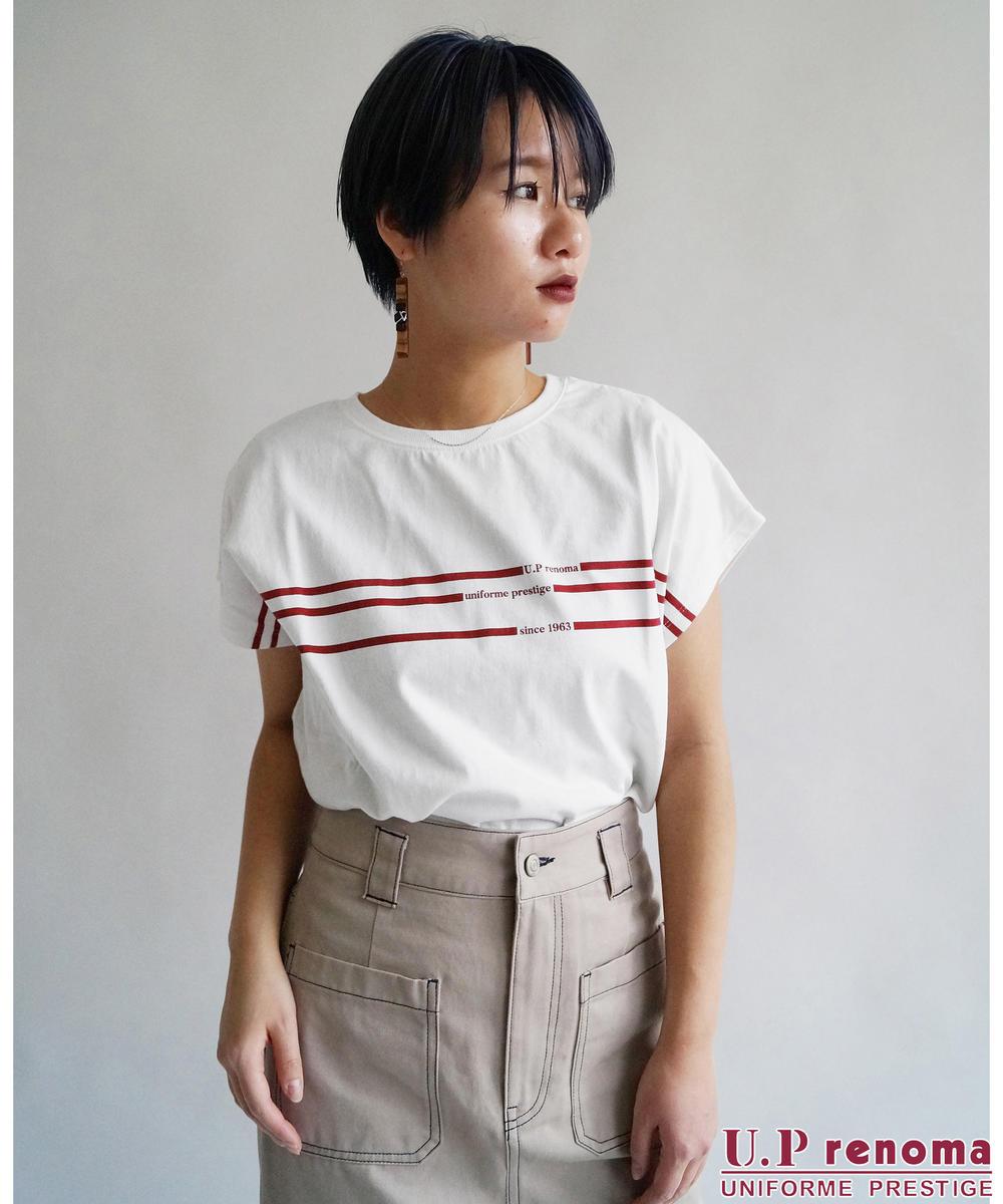 U.P renomaコラボラインTシャツ