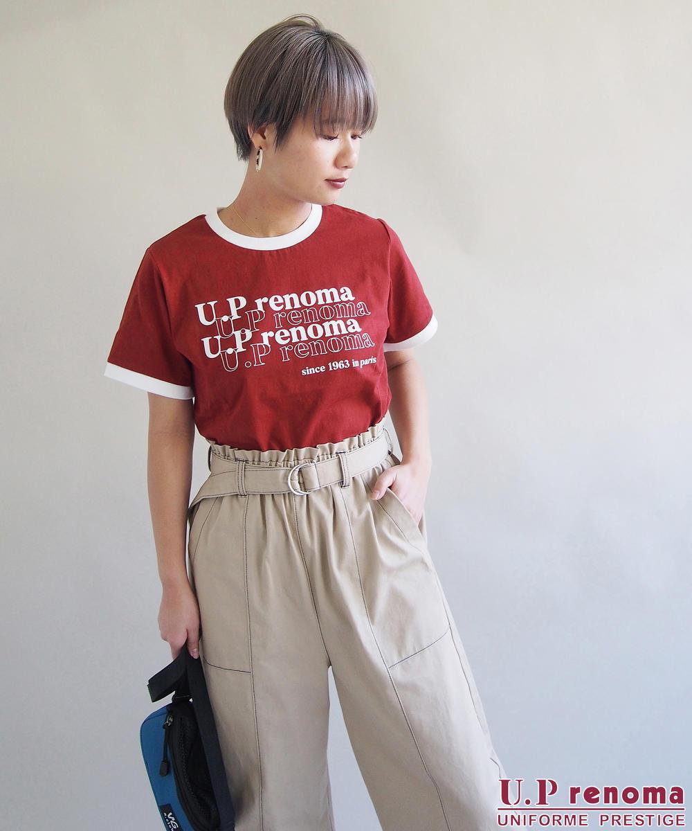 U.P renomaコラボリンガーTシャツ