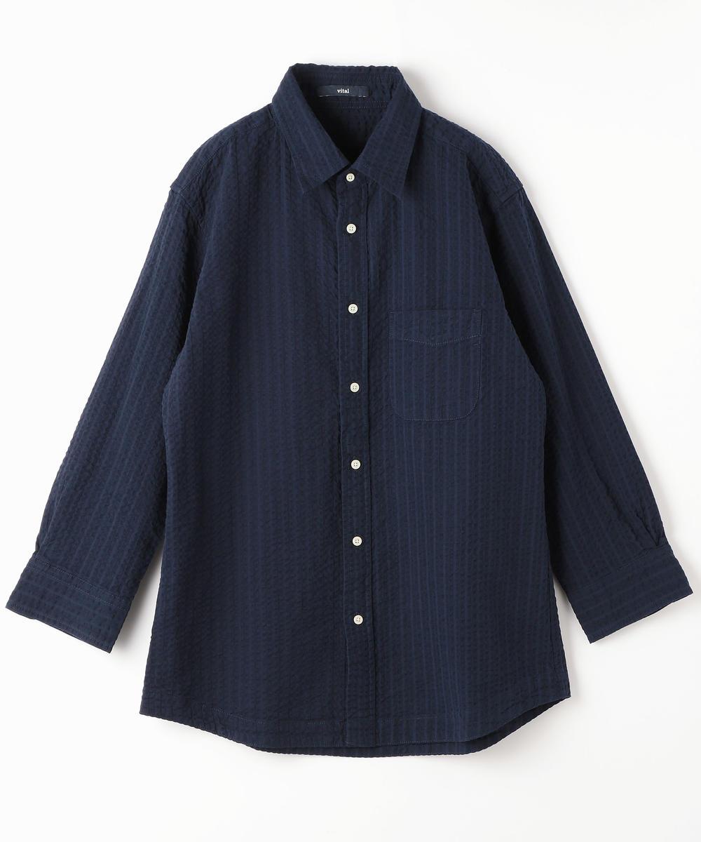 8分袖サッカーシャツ
