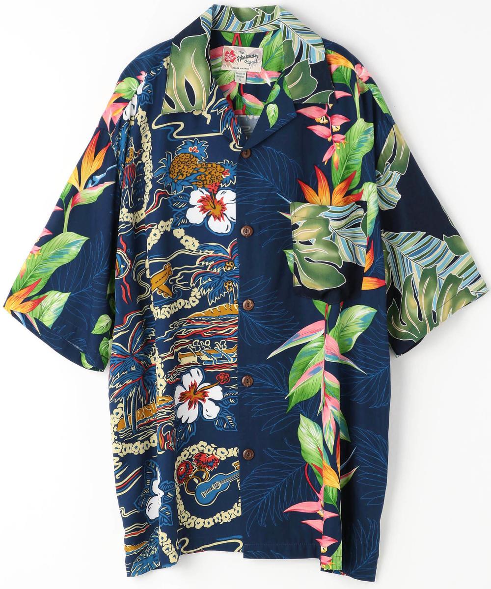 Hilo Hattie別注クレイジーパターンアロハシャツ