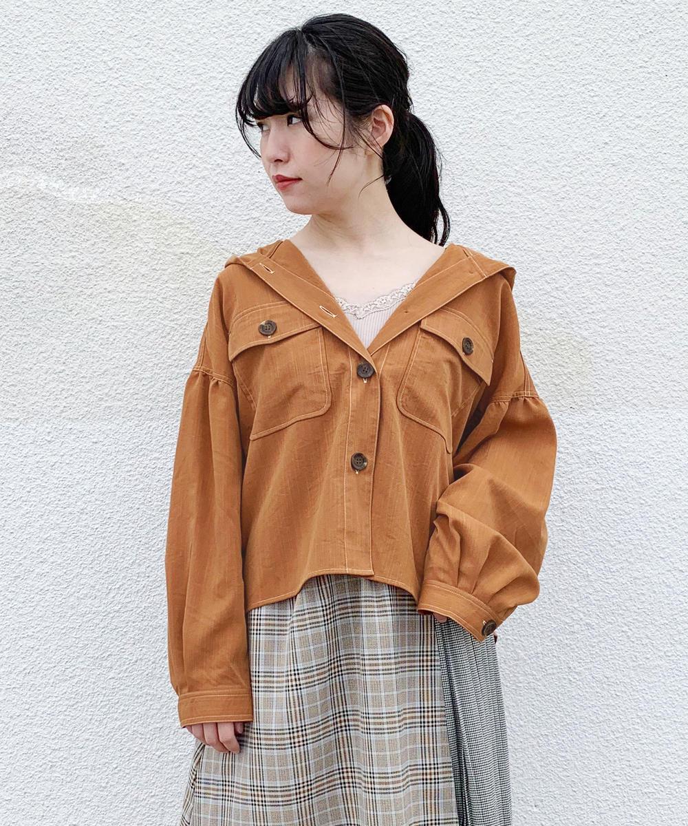 フード付きジャケット