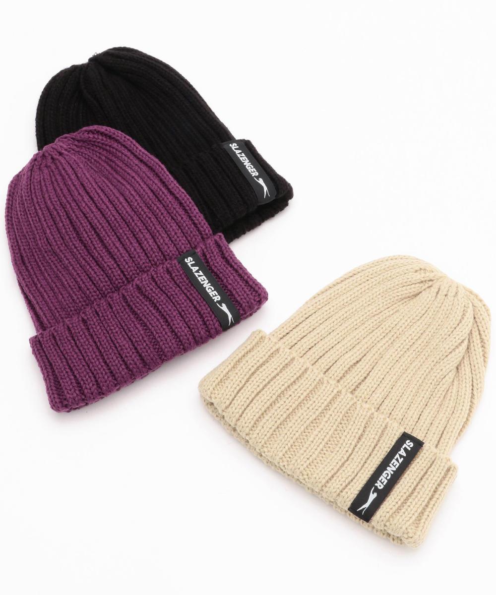 Slazenger(スラセンジャー)ワイドリブニット帽