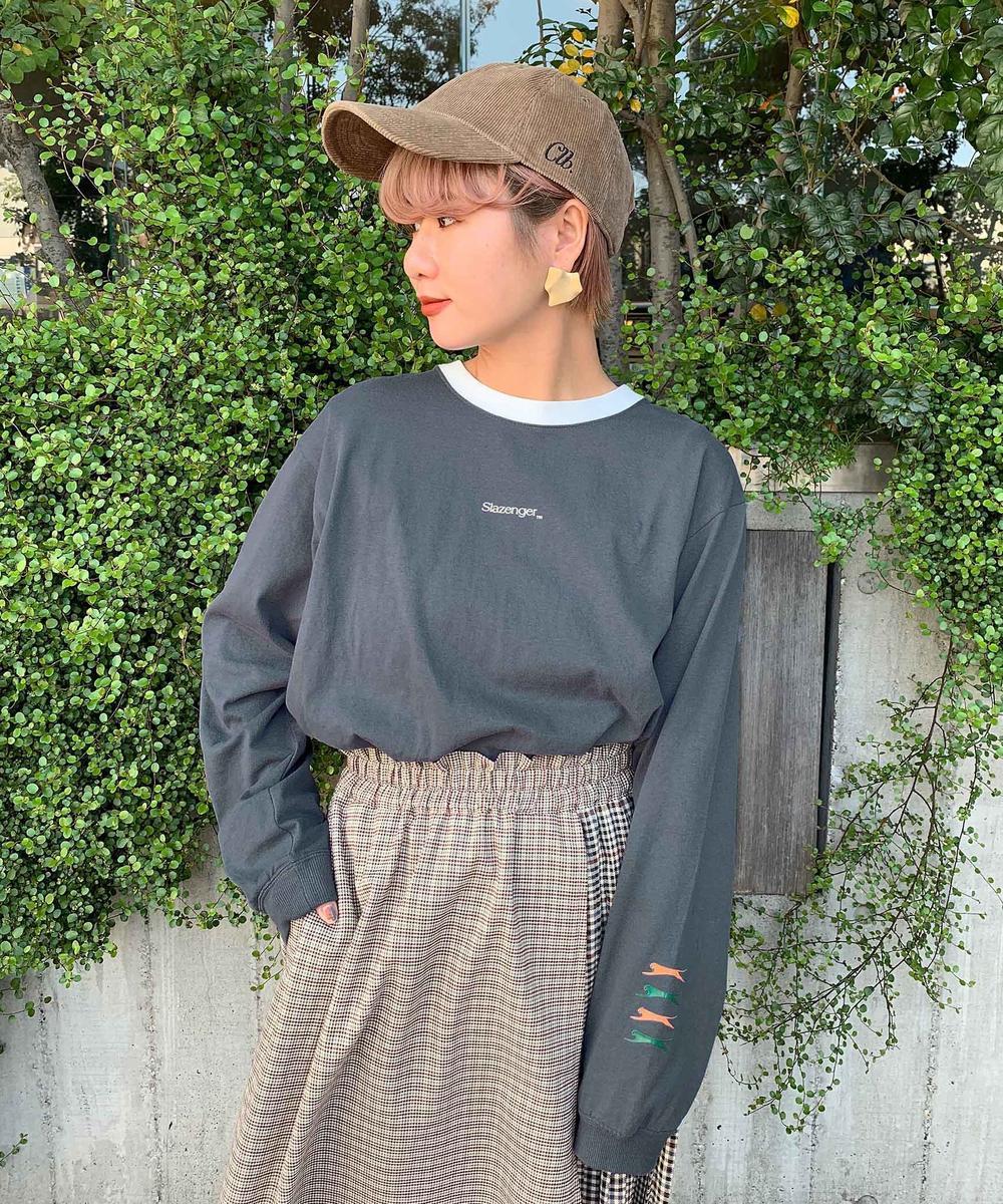 『mini12月号掲載』Slazenger(スラセンジャー)長袖Tシャツ