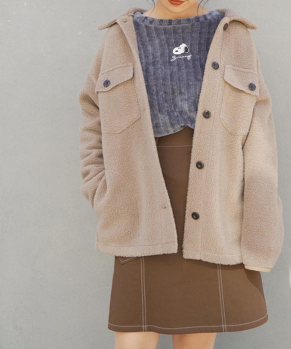 【再値下げ】『seventeen12月号掲載』ボアビッグジャケット