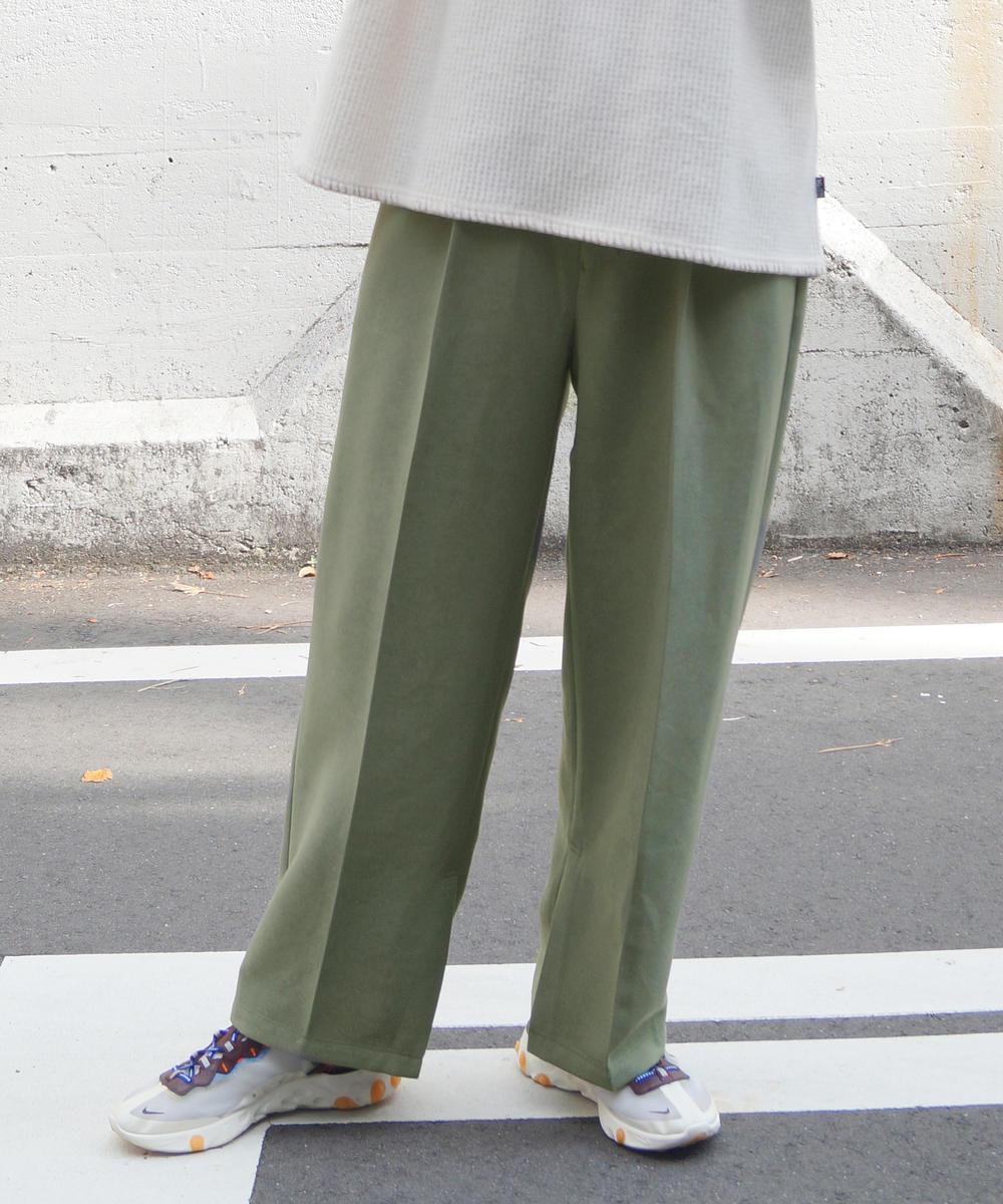 『mini12月号掲載』セミワイドセンタープレス入りスラックス