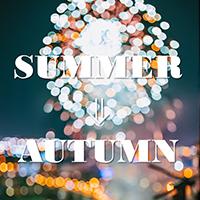 [SUMMER⇒AUTUMN]秋も先取りベーシックカットソー
