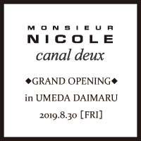 GRAND OPENING -梅田大丸 8.30.fri-