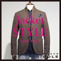 【NEW ARRIVALS】Jacket STYLE -19fw-