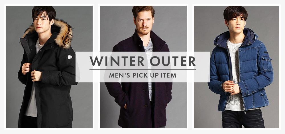 MEN'S PICK UP ITEM【WINTER OUTER】