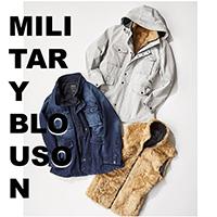 ‐MILITARY BLOUSON‐