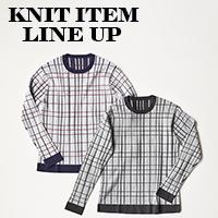 -KNIT ITEM LINE UP-