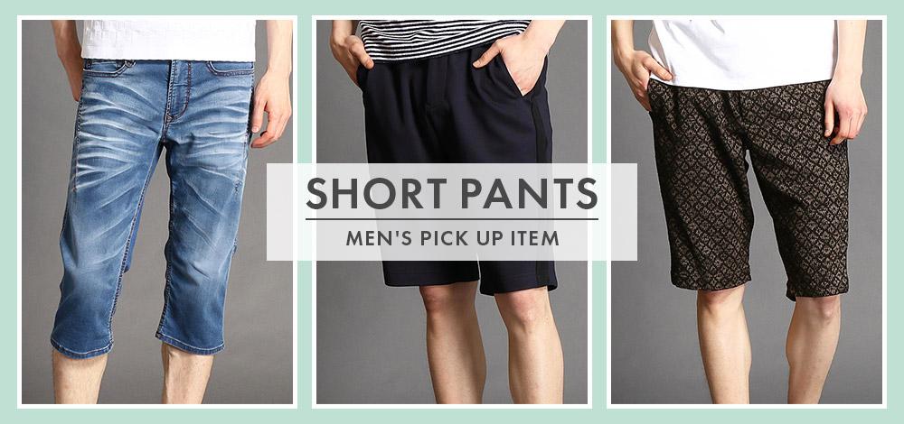 MEN'S PICK UP SHORT PANTS