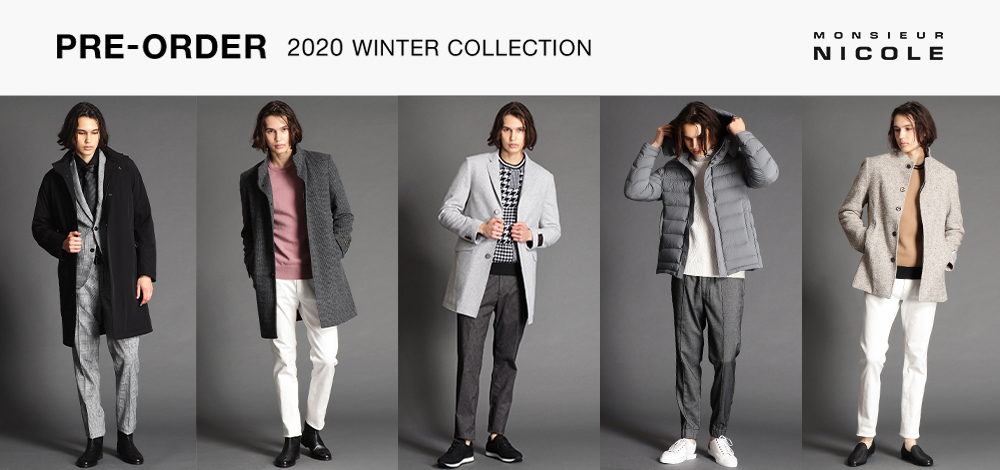 MN 2020WINTER COLLECTION PRE-ORDER
