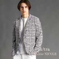 軽やかに羽織れてスタイリングがきまる春ジャケットのご紹介です